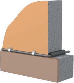 проход коаксиального кабеля через стену